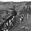 Virginia: Railroad, C1861 by Granger