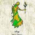 Virgo Artwork by Roly O