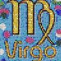 Virgo Zodiac Mosaic by Paul Van Scott