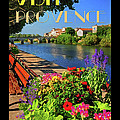 Visit Provence Poster by Dave Mills
