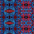 Vital Network II Design Large by Nancy Mueller