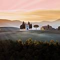 Vitaleta Chapel At Sunset by Jova photo