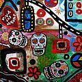 Viva Tres Muertos by Pristine Cartera Turkus