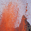 Volcanic Eruption, Spatter Cone by Tui De Roy