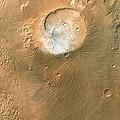 Volcano On Mars by Nasa