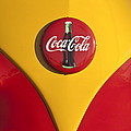 Volkswagen Vw Bus Coco Cola Emblem by Jill Reger