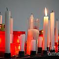 Votive Candles by Gaspar Avila