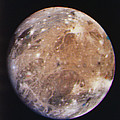 Voyager I Photo Of Ganymede, Jupiter's Third Moon by Nasa
