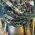 Vulcain Engine Designed For Ariane 5 Launcher by David Parker For Esacnesarianespace
