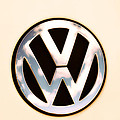 Vw Emblem by Bill Cannon