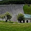 Wachusett Dam Panoramic by Mark Valentine