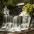 Wagner Falls 3 by John Brueske