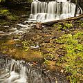 Wagner Falls 4 by John Brueske