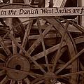 Wagon Wheels Of St. Croix by Dennis Stein
