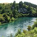 Waikato River by Eric Larue