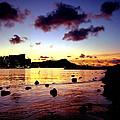 Waikiki Lagoon Dawn by Kevin Smith