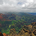 Waimea Canyon Weather by Lynn Bauer