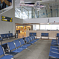 Waiting Area At An Airport Gate by Jaak Nilson