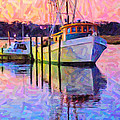 Waiting In The Harbor by Betsy Knapp