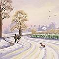 Walk In The Snow by Lavinia Hamer
