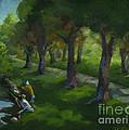 Walking Again In Cedar Park by Judith Reidy