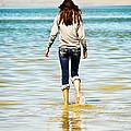 Walking Away 1 by Marilyn Hunt