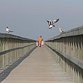 Walking Over The Bridge by Kent Andersen