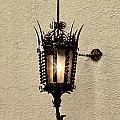 Wall Lamp Umber Sepia by Linda Phelps