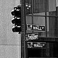 Wall Street And Broadway by Eric Tressler