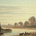 Walton On Thames by Peter de Wint