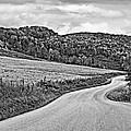 Wandering In West Virginia Monochrome by Steve Harrington