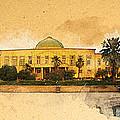 War In Iraq Sadaam's Palace by Jeff Steed
