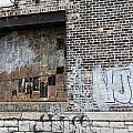 Warehouse Grafitti 2 by Anita Burgermeister