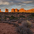 Warm Glow Over Arches by Andrew Soundarajan