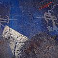 Warrior Petroglyph by John Bennett