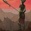 Warrior Princess Of Skorden by James Horsler