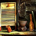 Washboard Still Life by Julie Dant