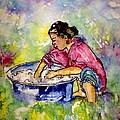 Washerwoman Beauty by Gloria Avner