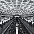 Washington Dc Metro Station II by Clarence Holmes