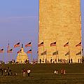 Washington Dc Sunset by Brian Jannsen