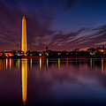 Washington Monument Reflections by David Hahn
