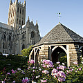 Washington National Cathedral And Stone by Richard Nowitz