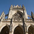 Washington National Cathedral Entrance by Richard Nowitz
