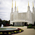 Washington Temple by Craig Leaper