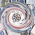 Wasting Money, Conceptual Image by Victor De Schwanberg