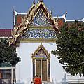 Wat Benchamabophit Monks Residence Dthb187 by Gerry Gantt