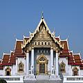 Wat Benchamabophit Ubosot Dthb1239 by Gerry Gantt