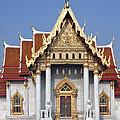 Wat Benchamabophit Ubosot Dthb180 by Gerry Gantt
