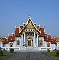 Wat Benchamabophit Ubosot Dthb279 by Gerry Gantt