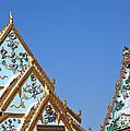 Wat Chamni Hatthakan Gables Dthb934 by Gerry Gantt